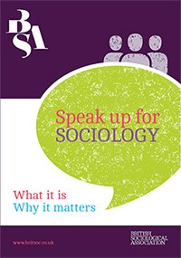 Speak up for Sociology cover image