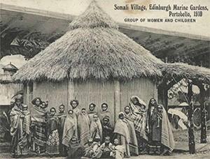 Picture of Somali Village.